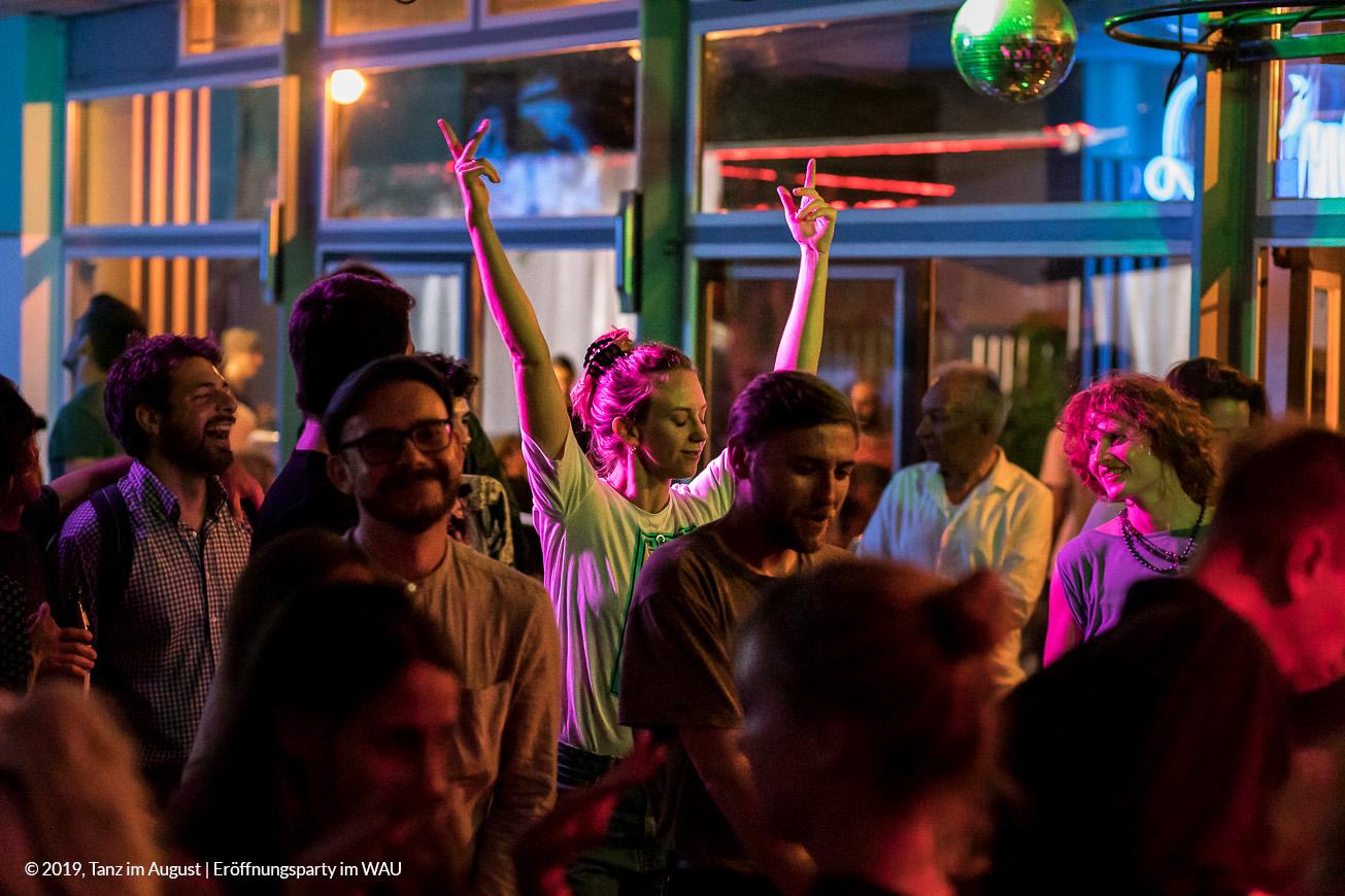 Tanz im August 2019 - Eröffnungsparty